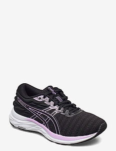 GEL-EXCITE 7 TWIST - laufschuhe - black/lilac tech