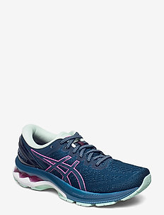 GEL-KAYANO 27 - laufschuhe - mako blue/hot pink