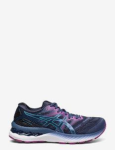 GEL-NIMBUS 23 - running shoes - grand shark/digital aqua