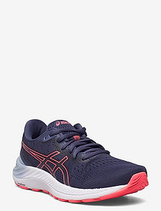 GEL-EXCITE 8 - running shoes - thunder blue/blazing coral
