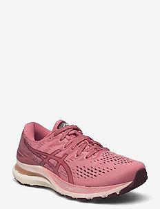 GEL-KAYANO 28 - running shoes - smokey rose/deep mars