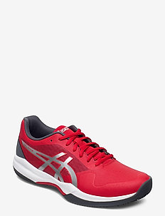 GEL-GAME 7 CLAY/OC - tennis sko - classic red/pure silver