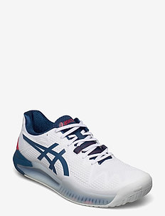 GEL-RESOLUTION 8 - racketsports shoes - white/mako blue