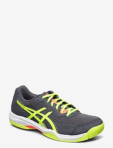 GEL-PADEL PRO 4 - buty do tenisa - carrier grey/safety yellow