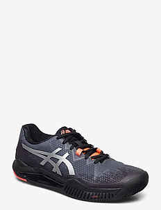 GEL-RESOLUTION 8 CLAY L.E. - tennis shoes - black/sunrise red