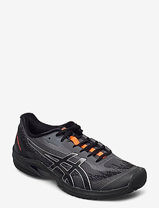 COURT SPEED FF L.E. - tennis shoes - black/sunrise red