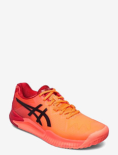 GEL-RESOLUTION 8 TOKYO - ketsjersportsko - sunrise red/eclipse black