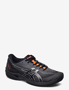 COURT SPEED FF CLAY L.E. - buty do tenisa - black/sunrise red
