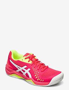GEL-CHALLENGER 12 CLAY - ketsjersportsko - laser pink/white