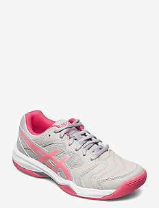 GEL-DEDICATE 6 - racketsportsskor - oyster grey/pink cameo