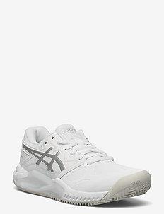 GEL-CHALLENGER 13 CLAY - ketsjersportsko - white/pure silver