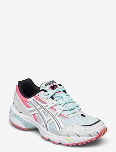 GEL-1090 - lave sneakers - aqua angel/white
