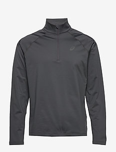 ICON WINTER LS 1/2 ZIP TOP - DARK GREY