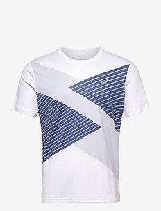 TOKYO SS TOP - t-shirts - brilliant white/grand shark