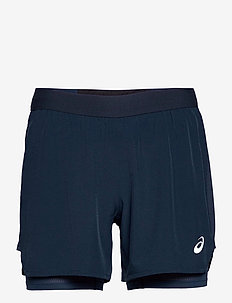 ROAD 2-N-1 5IN SHORT - training shorts - french blue/french blue
