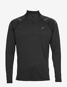 ICON LS 1/2 ZIP TOP - långärmade tröjor - performance black