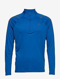 ICON LS 1/2 ZIP TOP - bluzki z długim rękawem - tuna blue