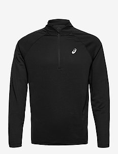 ICON LS 1/2 ZIP - langaermede-toppe - performance black/carrier grey