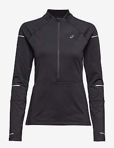 LITE-SHOW WINTER LS 1/2 ZIP TOP - PERFORMANCE BLACK