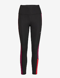 TOKYO HIGHWAIST TIGHT - running & training tights - performance black/dried berry