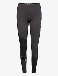 LITE-SHOW WINTER TIGHT - running & training tights - graphite grey/mustard seed