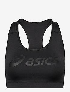 ASICS LOGO BRA - soutiens-gorge-de-sport: medium - performance black/performance black