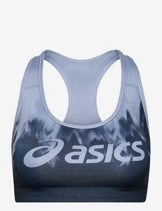 ASICS LOGO BRA KASANE - soutiens-gorge-de-sport: low - mist/french blue