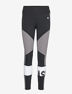 COLOR BLOCK CROPPED  TIGHT 2 - PERFORMANCE BLACK/CARBON