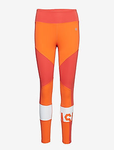 COLOR BLOCK CROPPED  TIGHT 2 - NOVA ORANGE