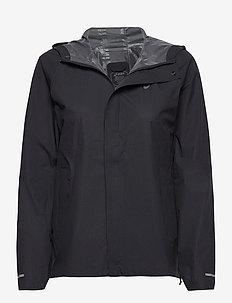 WATERPROOF JACKET - training jackets - sp performance black