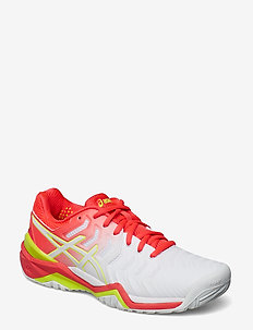 GEL-RESOLUTION 7 - tennis shoes - white / laser pink