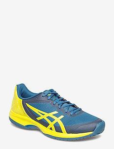 GEL-COURT SPEED - tennis shoes - ink blue/sulphur spring/turkis