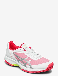 GEL-COURT SPEED CLAY - tenniskengät - white/laser pink