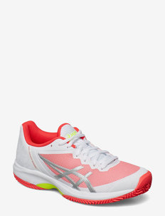 GEL-COURT SPEED CLAY - tennisschuhe - white/laser pink