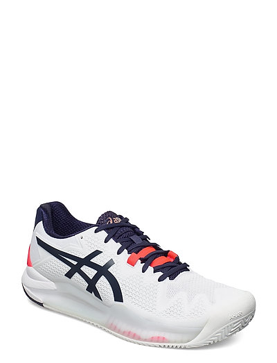 Gel-Resolution 8 Clay Shoes Sport Shoes Training Shoes- Golf/tennis/fitness Weiß ASICS