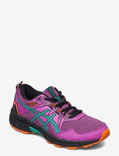 GEL-VENTURE 8 GS - hiking shoes - digital grape/baltic jewel