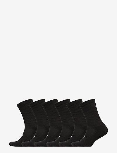 6PPK CREW SOCK - regular socks - performance black
