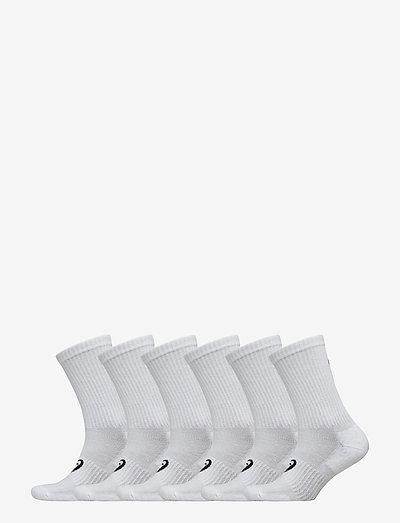 6PPK CREW SOCK - regular socks - white