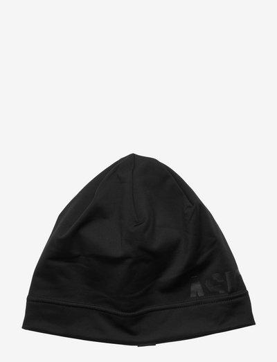 LOGO BEANIE - hats - performance black
