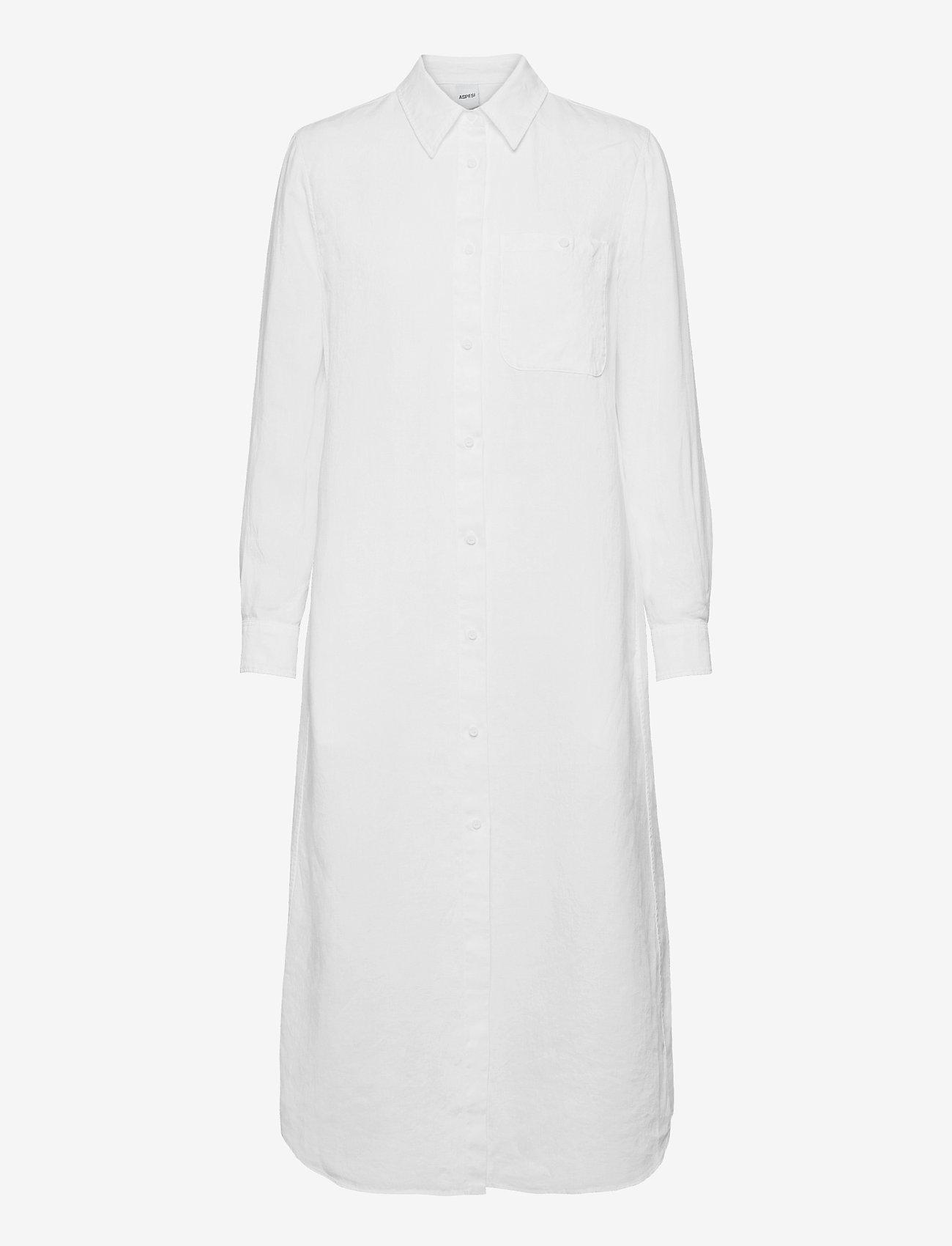 Aspesi - ABITO MOD.H603 - maxi dresses - bianco - 0