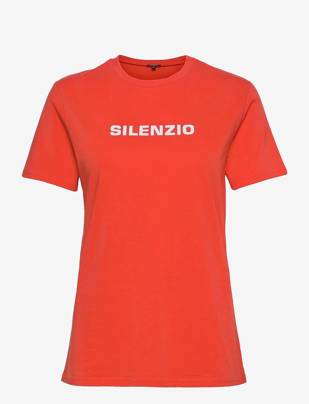 Aspesi - T-SHIRT MOD.Z035 - t-shirts - vermiglione - 0
