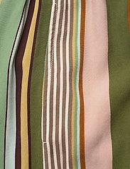 Aspesi - PANTALONE MOD.0112 - bukser med brede ben - multi righe - 2