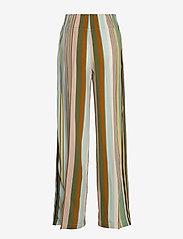Aspesi - PANTALONE MOD.0112 - bukser med brede ben - multi righe - 1