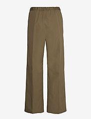 Aspesi - PANTALONE MOD.H128 - bukser med brede ben - militare - 1