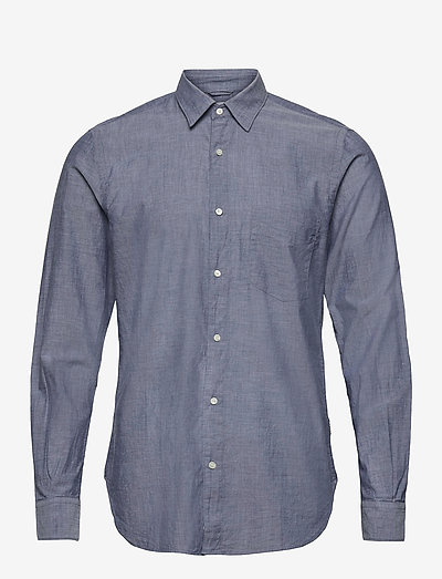 CAMICIA RIDOTTA II - casual shirts - chambray