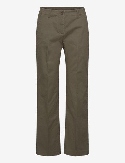 PANTALONE MOD.0112 - rette bukser - verde