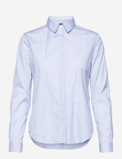 CAMICIA MOD.5401 - jeansblouses - riga azzurra