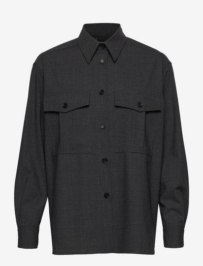 CAMICIA MOD.5414 - jeansskjortor - grigio
