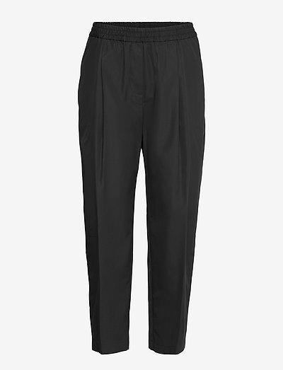 PANTALONE MOD.H115 - bukser med lige ben - nero