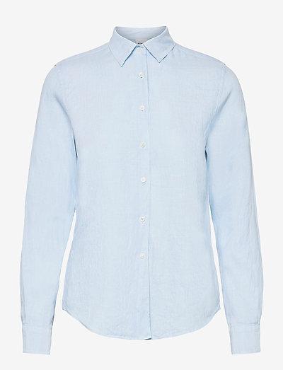 CAMICIA MOD.H711 - langærmede skjorter - cielo